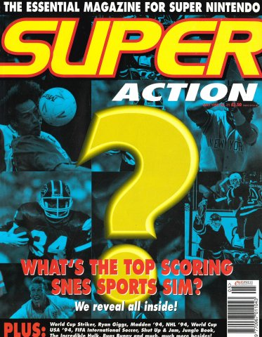 Super Action Issue 21 (May 1994)