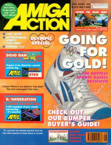 Amiga Action 035 (August 1992)