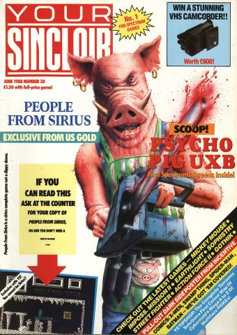 Your Sinclair Issue 30 (June 1988)