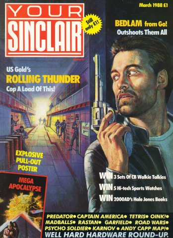 Your Sinclair Issue 27 (March 1988)