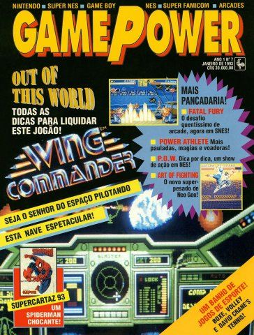 GamePower Issue 07 (January 1993)