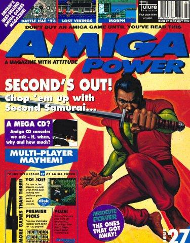 Amiga Power Issue 27 (July 1993)