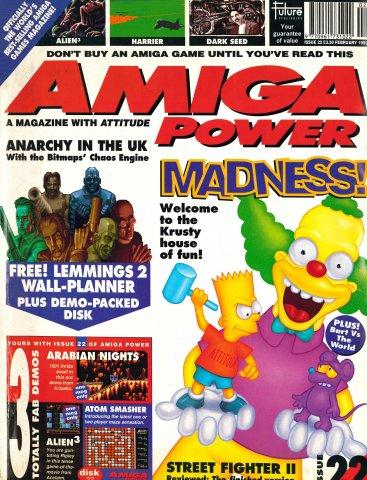 Amiga Power Issue 22 (February 1993)