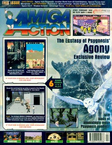 Amiga Action 029 (February 1992)
