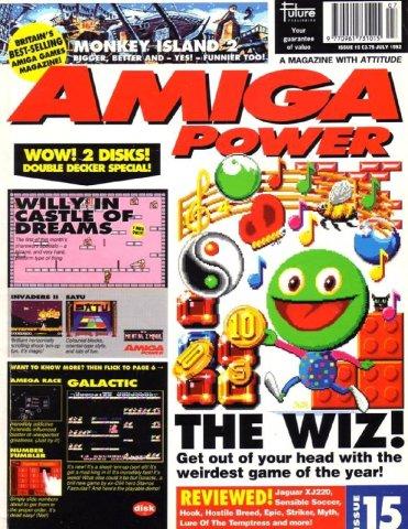 Amiga Power Issue 15 (July 1992)