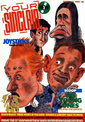 Your Sinclair Issue 02 (February 1986)