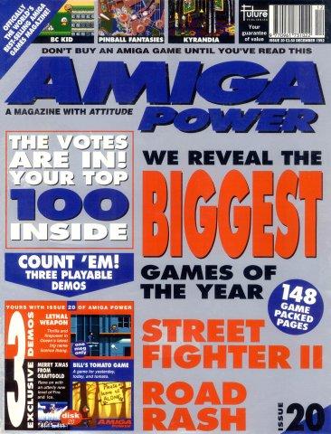 Amiga Power Issue 20 (December 1992)