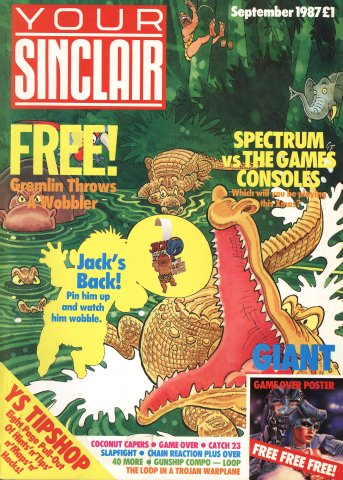 Your Sinclair Issue 21 (September 1987)