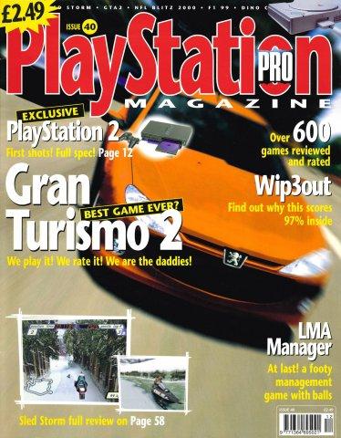 PlayStation Pro Issue 40 (November 1999)