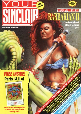 Your Sinclair Issue 32 (August 1988)