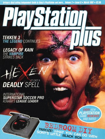 PlayStation Plus Issue 018 (March 1997)