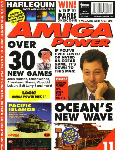 Amiga Power Issue 11 (March 1992)