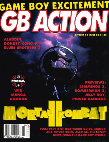 GB Action Issue 30 (October 1994)