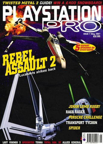 PlayStation Pro Issue 07 (May 1997)