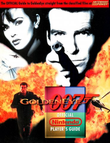 Goldeneye 007 Official Nintendo Player's Guide (Cover A)