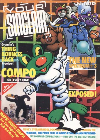 Your Sinclair Issue 19 (July 1987)
