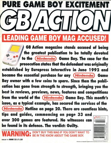 GB Action Issue 22 (February 1994)