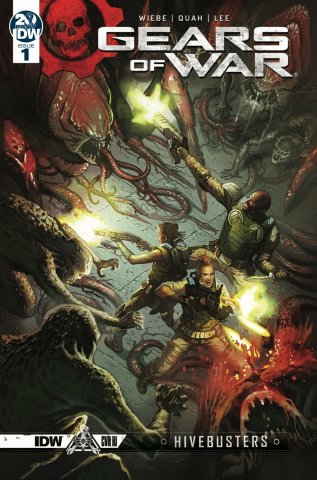 Gears of War - Hivebusters 001 (March 2019) (RI cover)