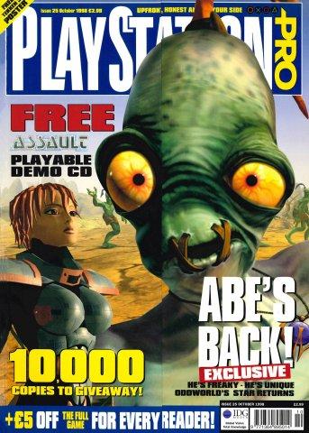 PlayStation Pro Issue 25 (October 1998)