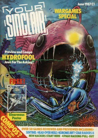 Your Sinclair Issue 18 (June 1987)