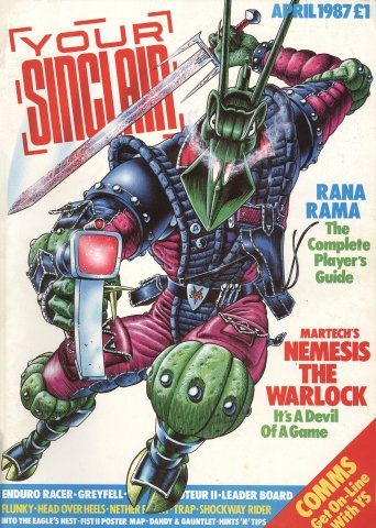 Your Sinclair Issue 16 (April 1987)