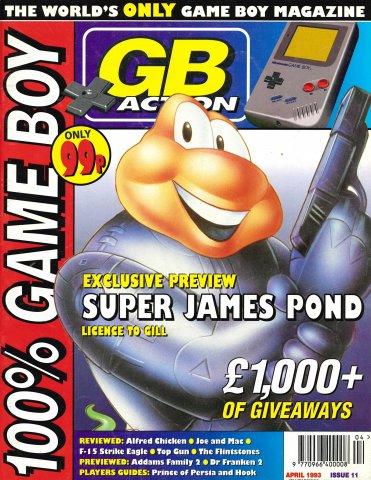 GB Action Issue 11 (April 1993)