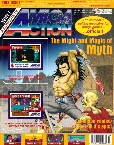 Amiga Action 031 (April 1992)
