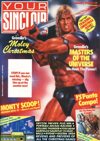 Your Sinclair Issue 25 (January 1988)