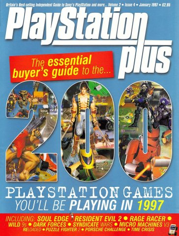 Playstation Plus Issue 016 (January 1997)