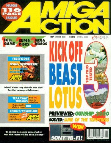 Amiga Action 037 (October 1992)