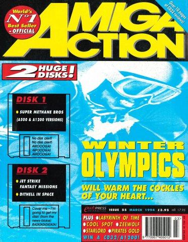 Amiga Action 055 (March 1994)