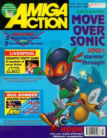Amiga Action 034 (July 1992)