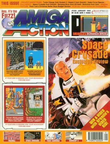 Amiga Action 028 (January 1992)