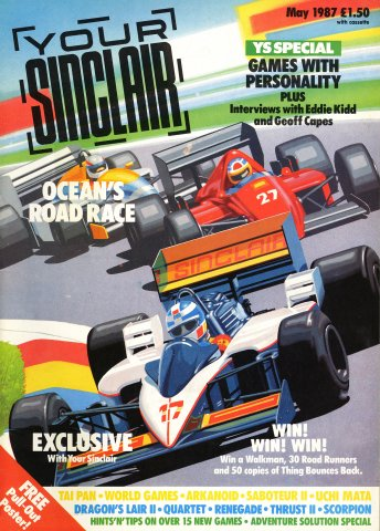 Your Sinclair Issue 17 (May 1987)