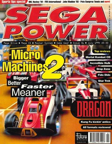 Sega Power Issue 56 (July 1994)