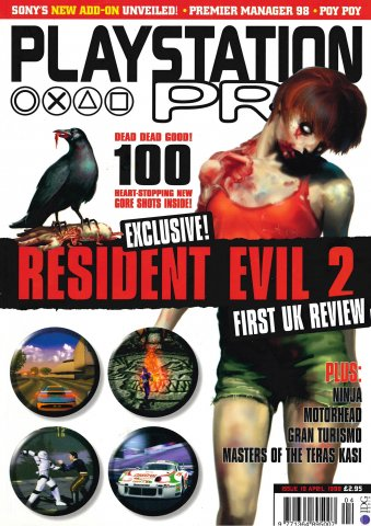 PlayStation Pro Issue 19 (April 1998)