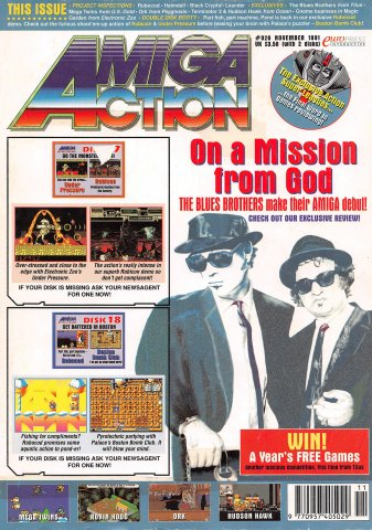 Amiga Action 026 (November 1991)