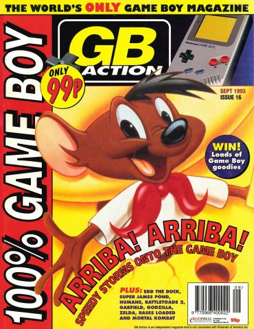 GB Action Issue 16 (September 1993)
