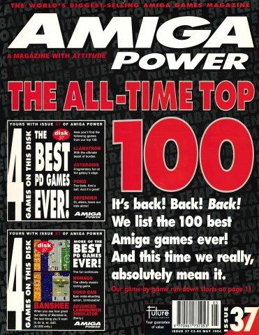 Amiga Power Issue 37 (May 1994)