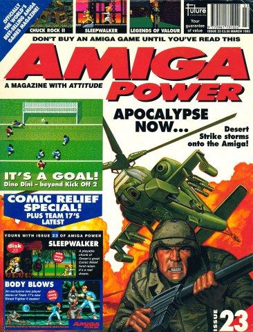 Amiga Power Issue 23 (March 1993)