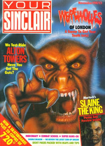 Your Sinclair Issue 23 (November 1987)
