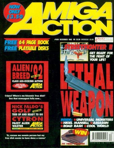 Amiga Action 039 (December 1992)