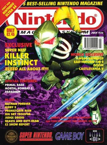 Nintendo Magazine System 034 (July 1995)