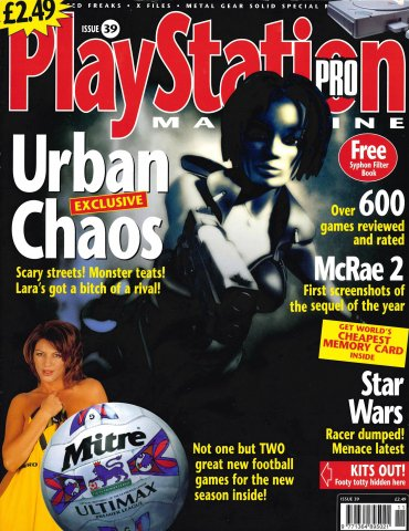 PlayStation Pro Issue 39 (October 1999)