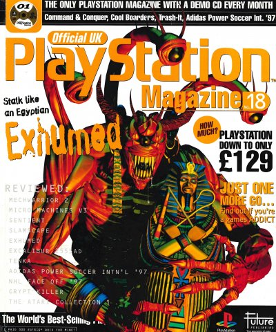 Official UK PlayStation Magazine Issue 018 (April 1997)
