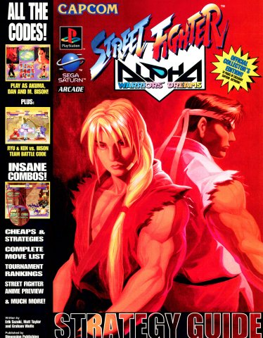 Street Fighter Alpha Strategy Guide