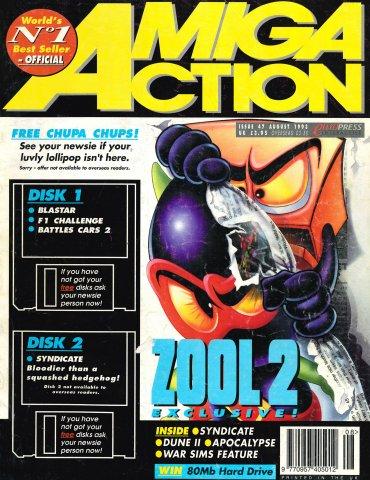 Amiga Action 047 (August 1993)
