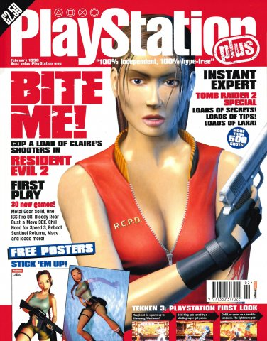 PlayStation Plus Issue 029 (February 1998)