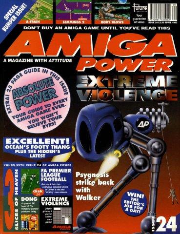 Amiga Power Issue 24 (April 1993)