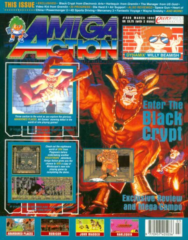 Amiga Action 030 (March 1992)